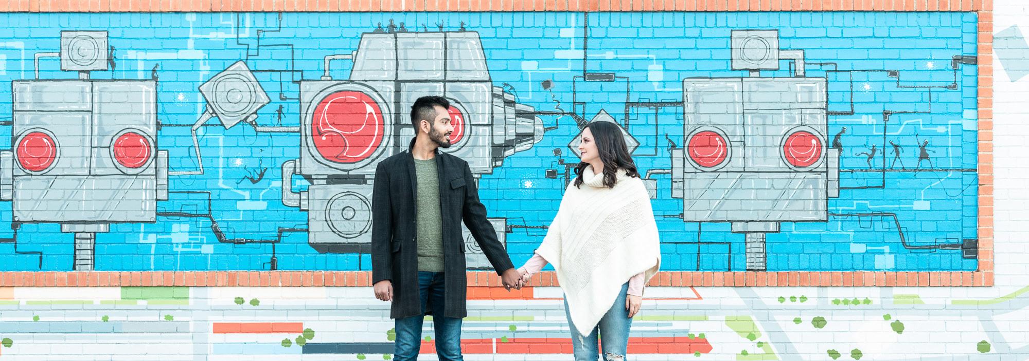 Emily & Vivek